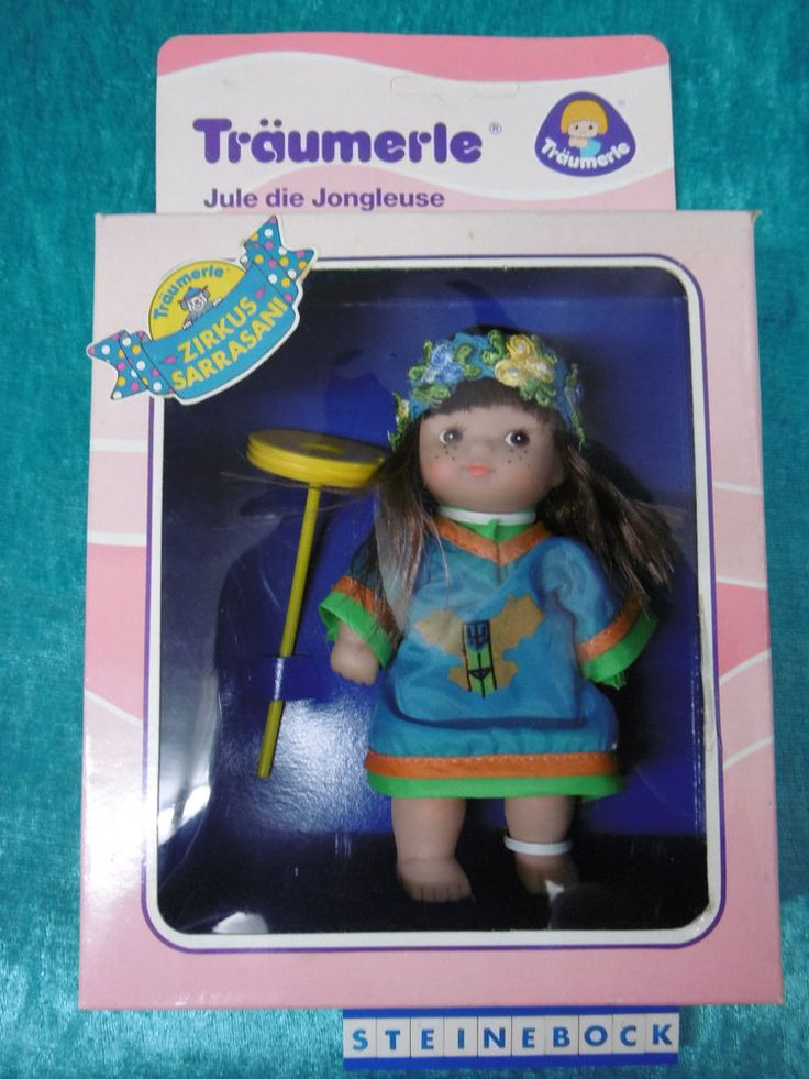 "Träumerle ""Jule"" 13cm Puppe Puppenhaus Made in Germany OVP"