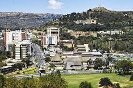 Maseru - capital city of Lesotho
