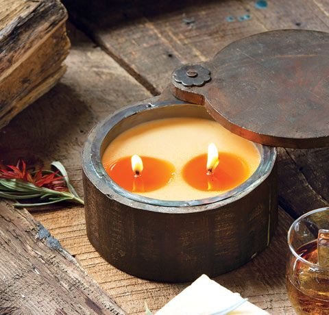 Sage and Pomegranate wood spice pot at Olive and Cocoa catalogue and ...