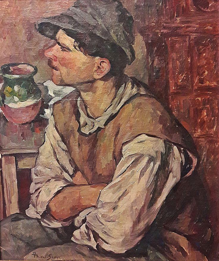Ion Theodorescu Sion (1882-1939) - Odihna