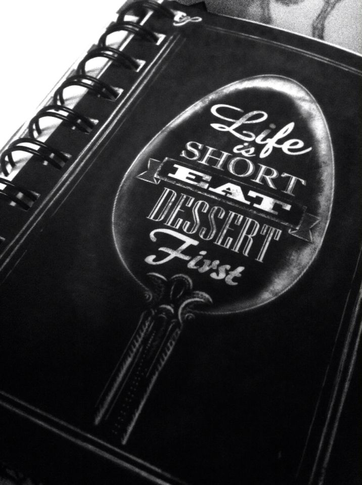 Thanks to my daily diary that reminds me how to live properly.