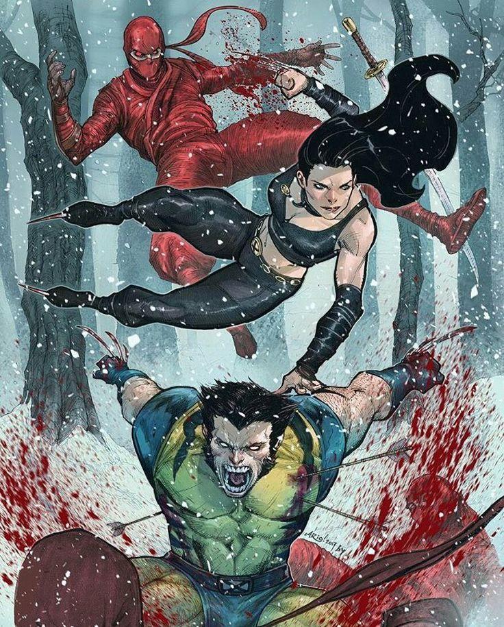 X-23 and Dare devil. Wolverine