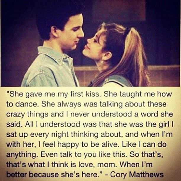 cory and topanga - Google Search