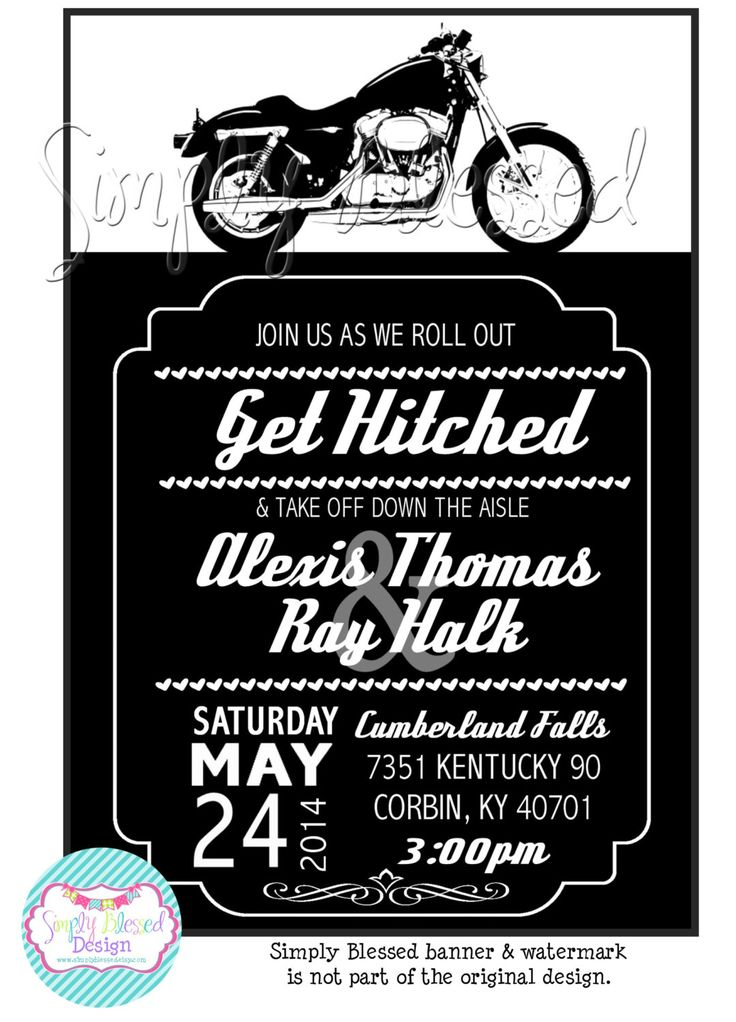 1000 Ideas About Motorcycle Wedding On Pinterest
