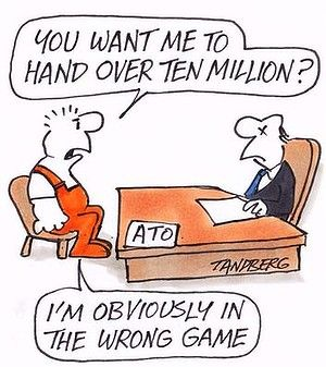 ATO Investigation $10 million please?