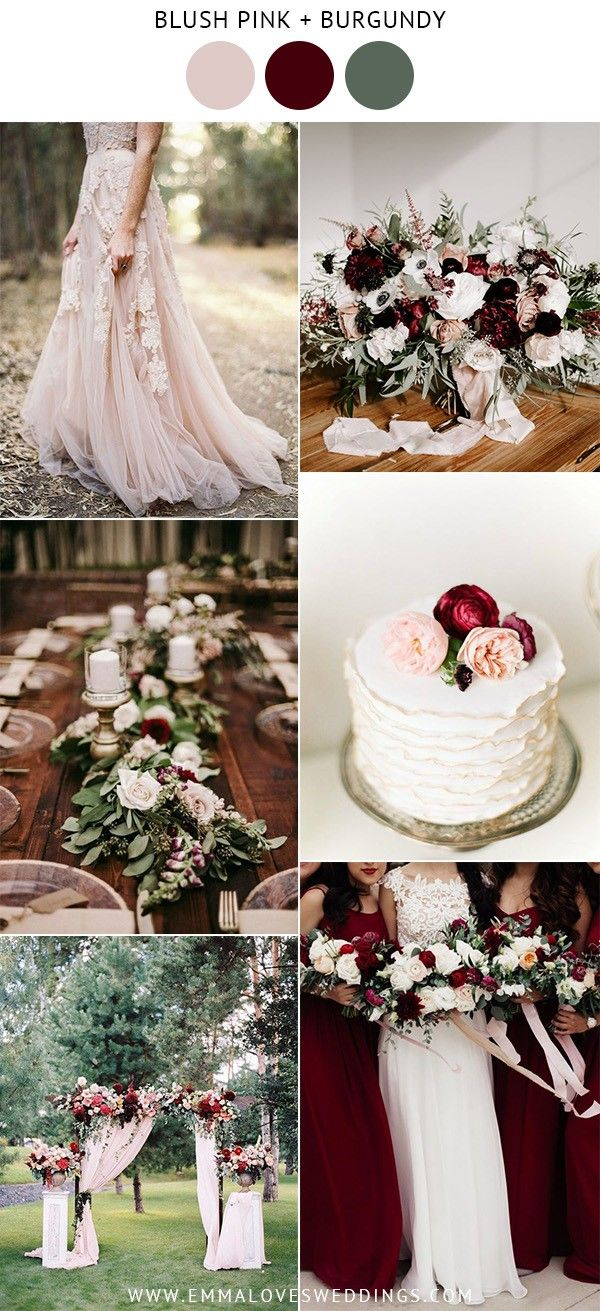 10 Prettiest Blush Pink Wedding Color Ideas for Spring and