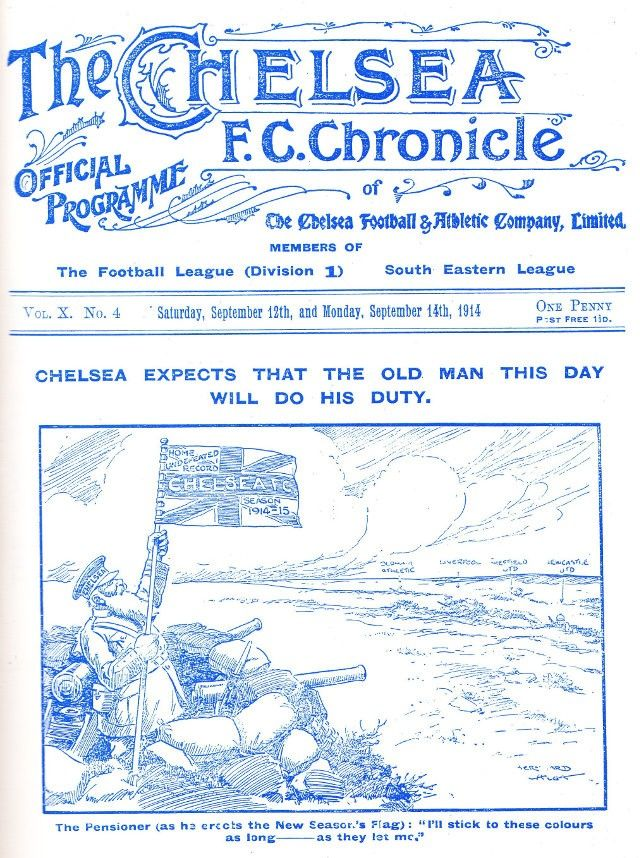 Chelsea expects WW1