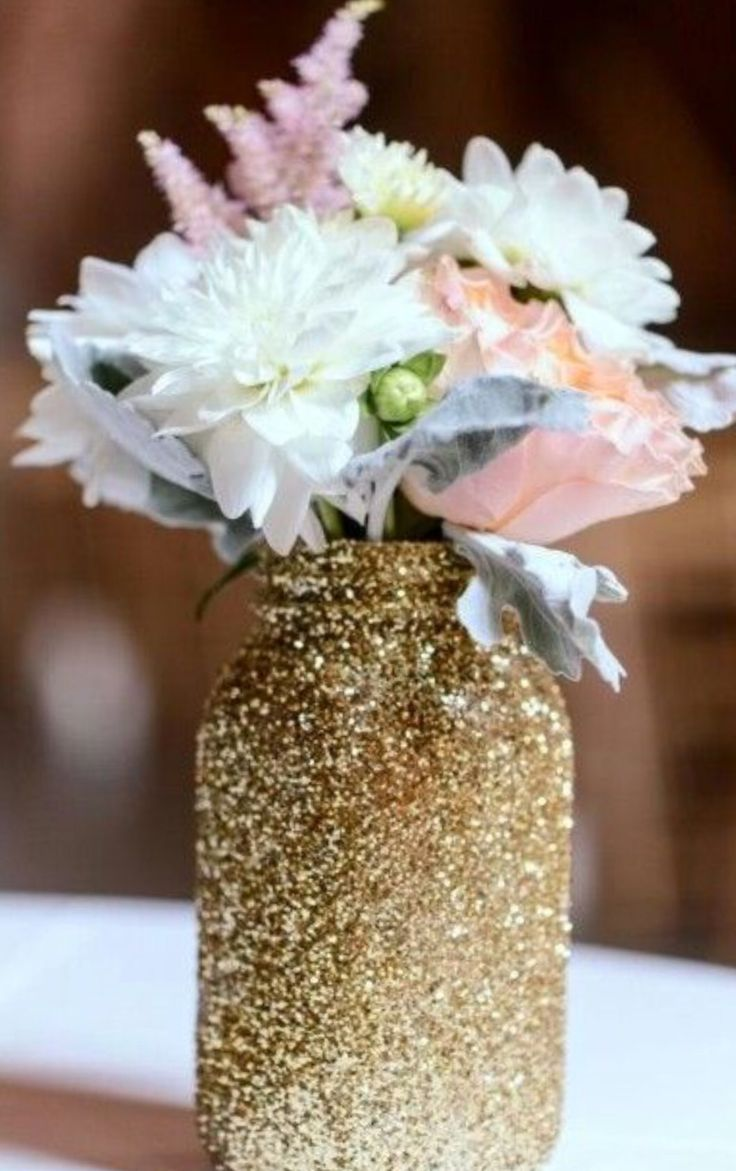 An easy way to decorate your room or anything you want using mason jars
