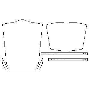 Leather sleeves + vambraces template