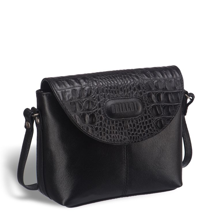 Женская mini-сумочка через плечо BRIALDI Melissa (Мелисса) black     Миниатюрная сумочка из натуральной кожи, идеально подойдет как для повседневного, так и для вечернего наряда. Закрывается на клапан на магнитной кнопке, а так же на молнию носится на плече или через плечо. Внутри: одно основное отделение. Снаружи: на задней стороне карман на молнии.