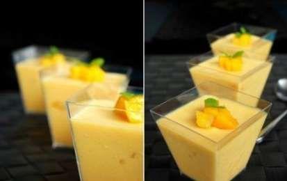 Mousse al mango - Oggi vi proponiamo la ricetta della mousse al mango, una ricetta estiva, fresca. genuina e assolutamente priva di grassi idrogenati e conservanti, provate anche voi a realizzare in casa questa mousse, è davvero squisita!