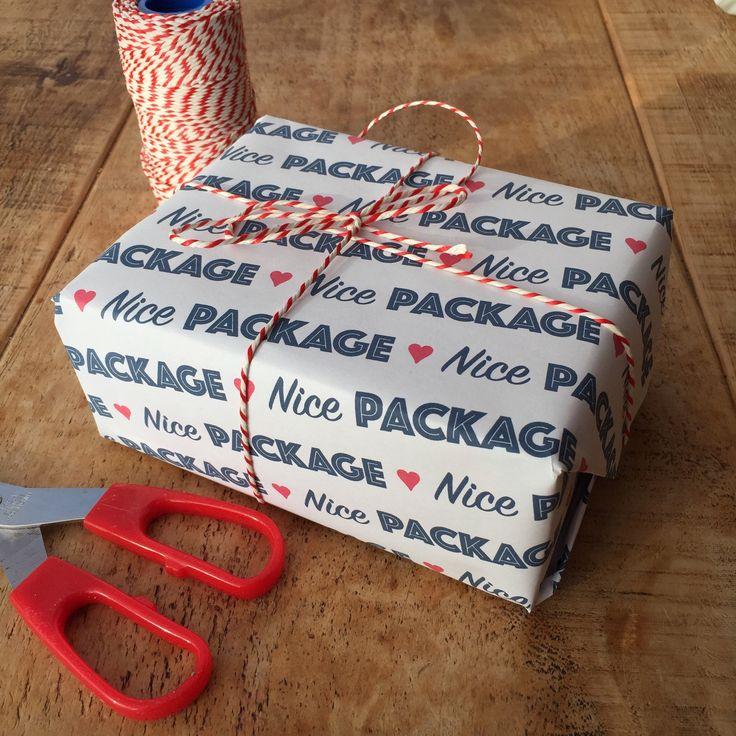 New Printable Gift Wrap in time for Valentine's Day. Wink wink nudge nudge #valentinesday #nicepackage #giftwrap