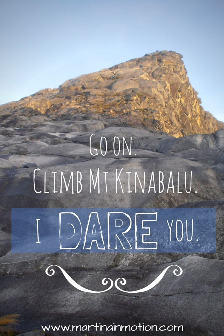 Mt Kinabalu, in Borneo, Malaysia - one of South East Asia's greatest hikes.