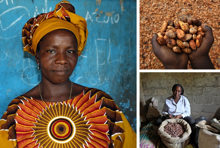 Our first big 'Behind the Brands' action is to encourage big chocolate companies to make equality for women cocoa farmers a priority. Companies often put women front and center in their advertising, but not in their supply chains. You can change that. https://www.oxfamireland.org/blog/behind-brands