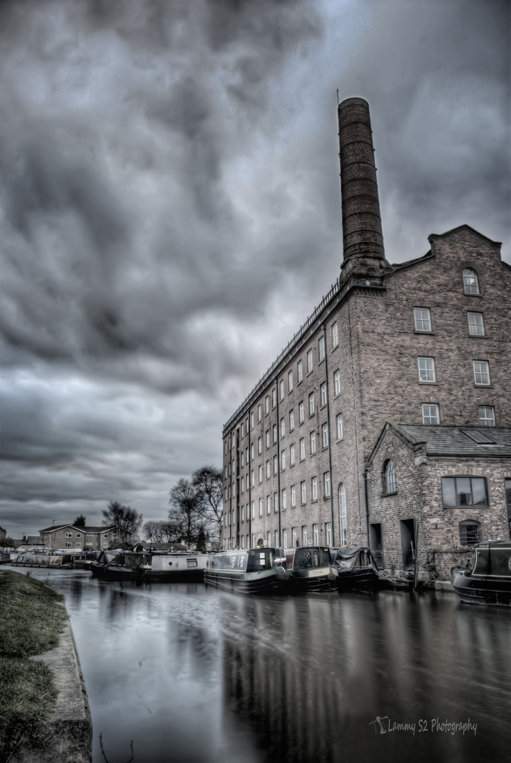 The Old Hovis Mill in Macclesfield.