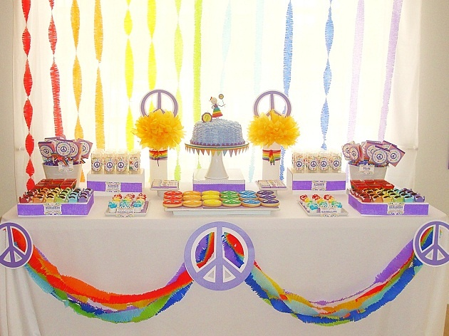 peace & love party theme