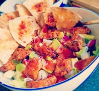 My Dream Kitchen : Recipe Box : Spicy Chicken Taco Bowl
