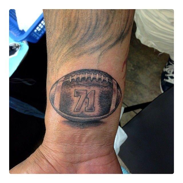 Football tattoos designs