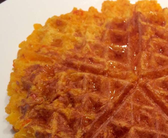 Rezept Süße Kürbiswaffeln (WW- und Diät-geeignet) von Katie2012 - Rezept der Kategorie Backen süß