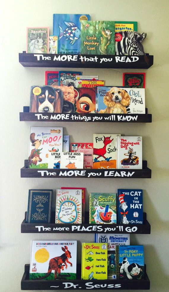 Hey, I found this really awesome Etsy listing at https://www.etsy.com/ca/listing/274922548/dr-seuss-book-shelves-floating-book