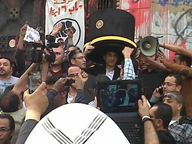 """Egyptian Jon Stewart"" Arrested - riotwire"