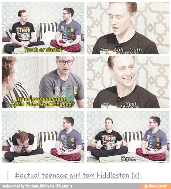 What's funny is that some one (I think it might have actually been Josh) asked Chris his side of the story and he had no clue what Tom was talking about ---- yes me too!!