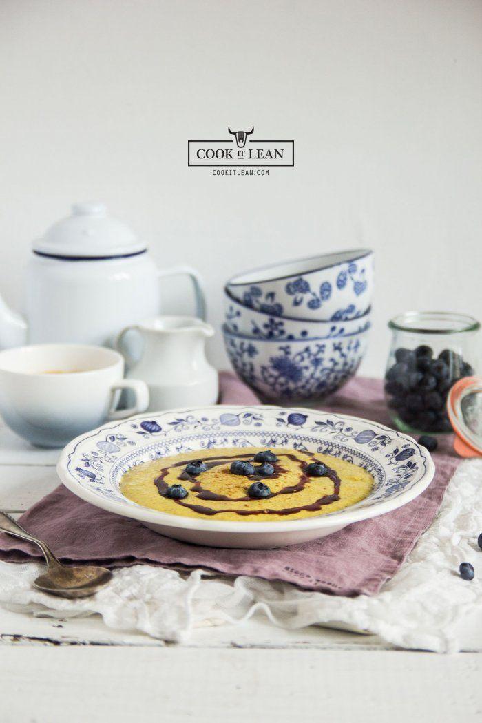 Siemianka - paleo owsianka #2 - Cook it Lean - sprawdzone paleo przepisy