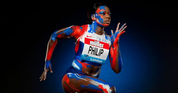 Sprinter Asha Philip determined to complete bounce-back from horror trampoline injury at this weekend's European Indoor Championships Brit who lost two years of her career to major knee damage suffered in the OTHER sport she was a world champion at won relay bronze at last summer's Olympics
