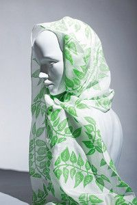Creative Company   50 Silk Scarves: The first shoots of spring