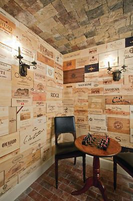 23 Assorted & Branded Wine Wood Panels From Crates (Wine Box) Sides/Ends/Tops.