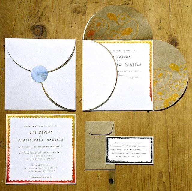 Britt Browne #lettering #invitation #wedding