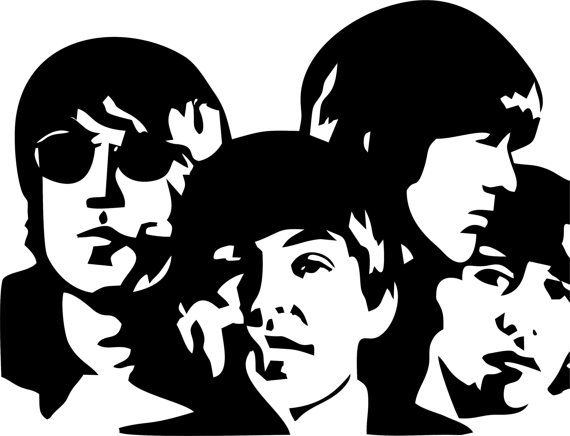 Beatles Wall Art by LynchmobGraphics on Etsy