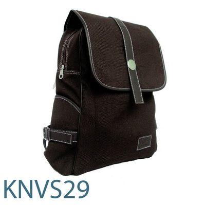 KNVS 29, Ransel Bahan Kanvas.  Rp. 50.000