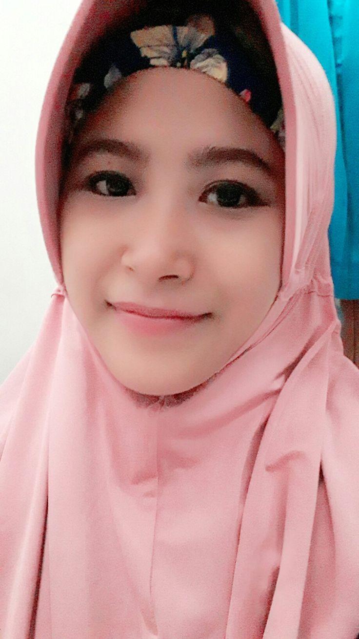 Pink instant hijab #mydaily #hijab #instanthijab