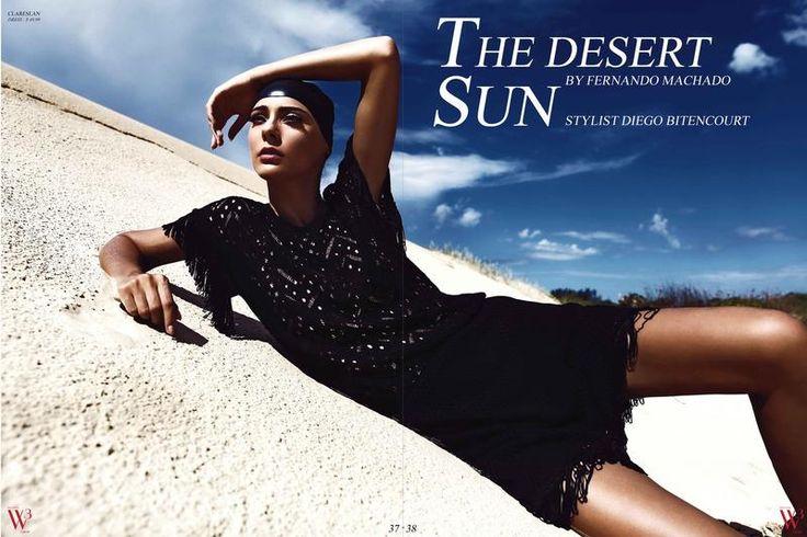 Various Editorials - The Desert Sun for W3 Magazine