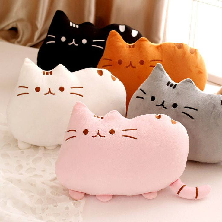Pusheen Cat Cushions...aww <3
