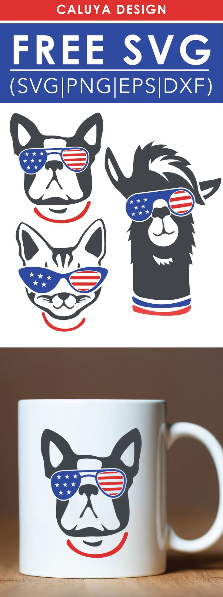Free American Animals SVG, PNG, EPS & DXF by