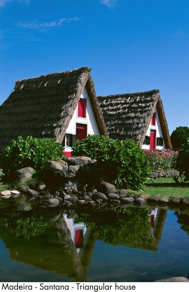 Santana typical houses - Madeira Island #Portugal