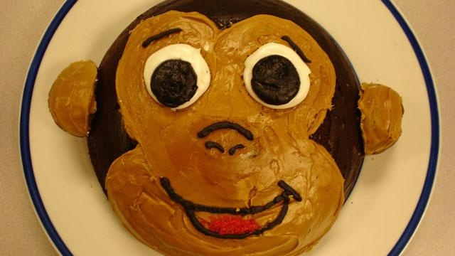Curious George Cake--Perfect for your child's Curious George-themed celebration.