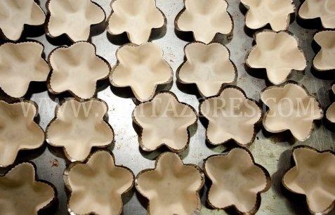 """Queijadas da Graciosa"" are a regional sweet of the Azores produced in Graciosa island"
