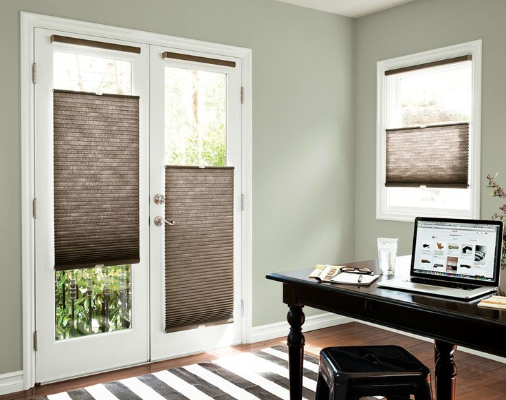Petite Cell Honeycomb Shades In 13560 Mocha With