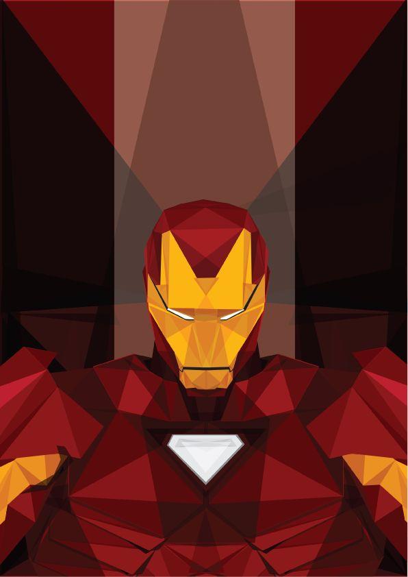 Marvel Heroes Geometric ArtSet