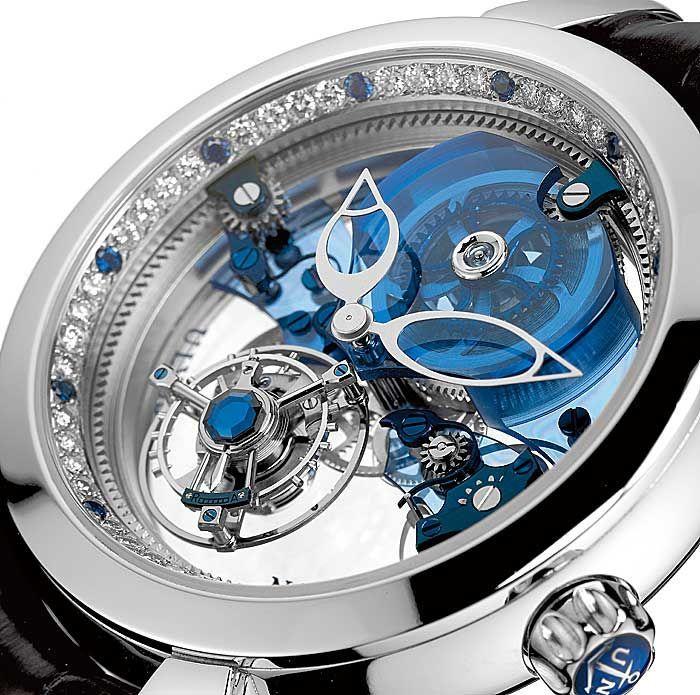 Ulysse Nardin – Royal Blue Tourbillon ($ 1,000,000) (9.5 M's)