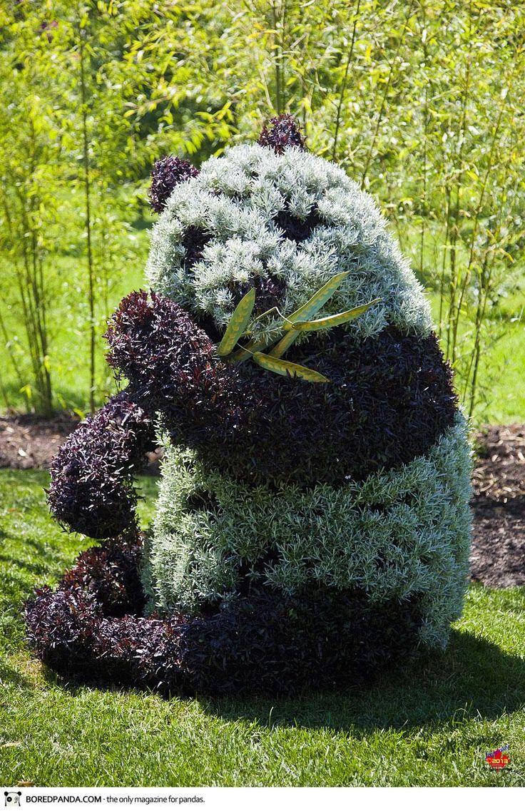 sculpture végétale | Découvrez les magnifiques sculptures végétales de l'exposition ...