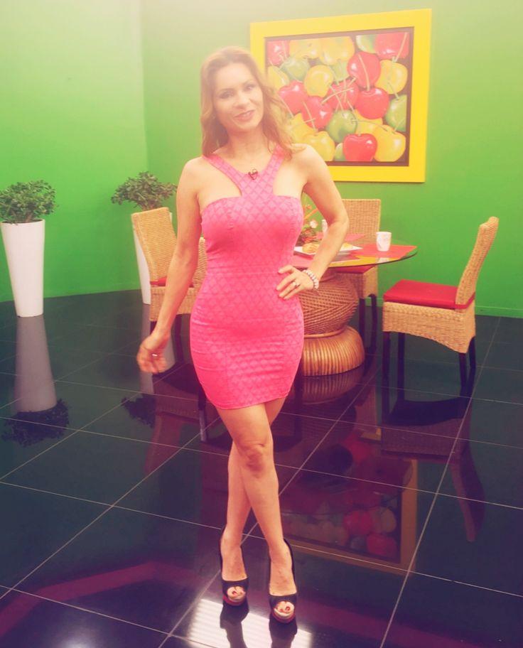 Un día más de trabajo en Panamericana tv. #ilovemyjob