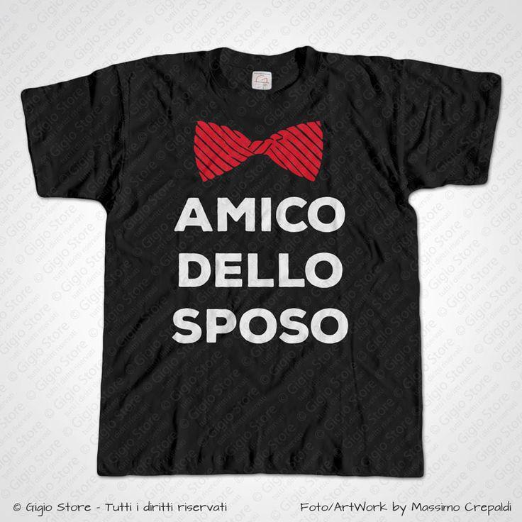 Magliette Addio al Celibato T-Shirt Matrimonio con Farfallina Papillon per gli Amici dello Sposo, Personalizza adesso! ->  http://www.gigiostore.it/prodotto/addio-celibato-amico-dello-sposo-papillon/