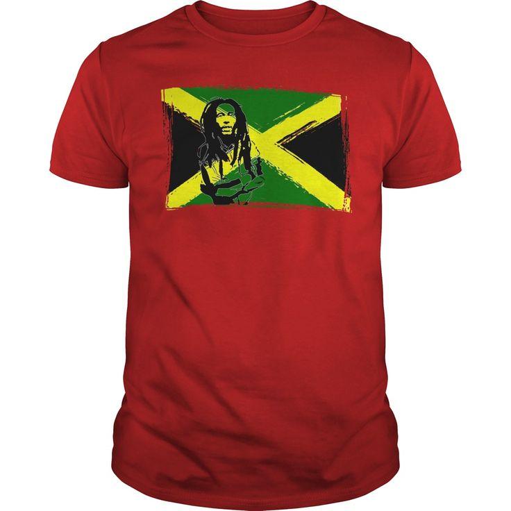 Feeling sunny rasta green rastafarian and Jamaica flag yellow green black