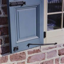 93 best shutters images on pinterest for Recessed panel shutters