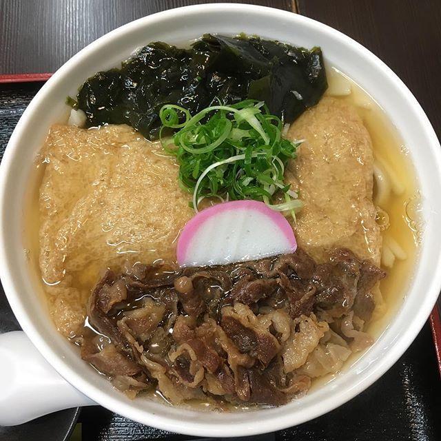 大阪 寺田町 極楽うどんAhー麺  もちもちでコシのあるおうどん! 暑いんですが、あっつーいお出汁を頂きます。 肉とキツネとワカメ! ご馳走様でした。  #大阪 #寺田町 #極楽うどん #極楽うどんahー麺 #うどん #肉 #キツネ #ワカメ #筋トレ #トレーニング #プロテイン #たんぱく質 #カーボ #スケボー初心者 #ルービックキューブ #浜水