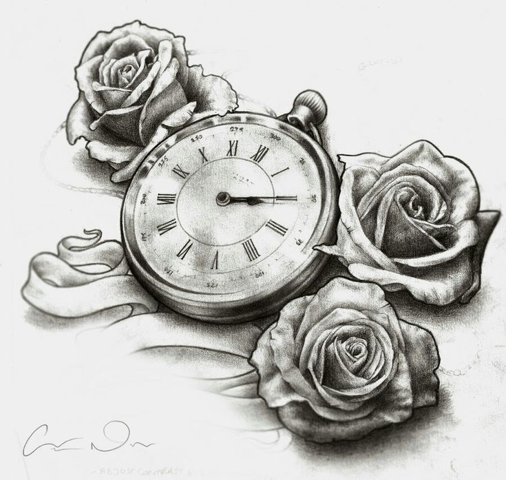 Pocket watch tattoo sketch  120 best Hourglass and Watchs Tattoos Ideas images on Pinterest ...